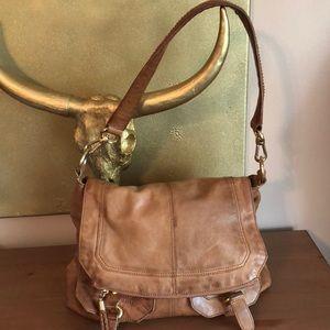 The Sak Leather Saddle Bag